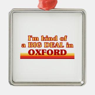 Ornement Carré Argenté Genre d'I´m d'affaire à Oxford