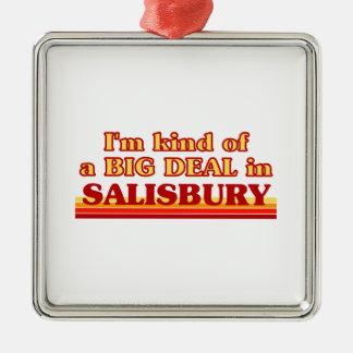 Ornement Carré Argenté Genre d'I´m d'affaire à Salisbury