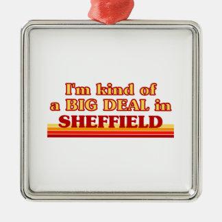 Ornement Carré Argenté Genre d'I´m d'affaire à Sheffield