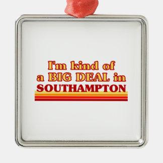 Ornement Carré Argenté Genre d'I´m d'affaire à Southampton