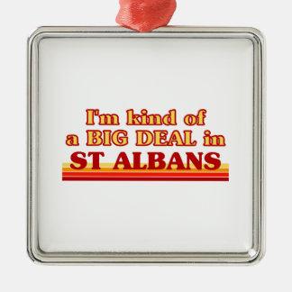 Ornement Carré Argenté Genre d'I´m d'affaire à St Albans