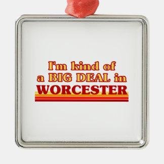 Ornement Carré Argenté Genre d'I´m d'affaire à Worcester