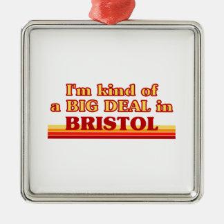 Ornement Carré Argenté Genre d'I´m d'affaire dans Bristol