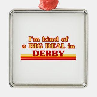 Ornement Carré Argenté Genre d'I´m d'affaire dans Derby