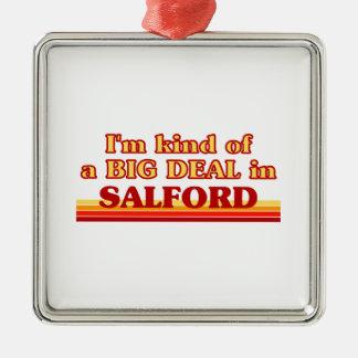 Ornement Carré Argenté Genre d'I´m d'affaire dans Salford