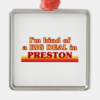 Ornement Carré Argenté Genre d'I´m d'affaire en Preston
