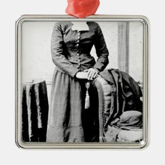 Ornement Carré Argenté Harriet Tubman