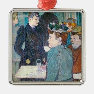 Ornement Carré Argenté Henri De Toulouse-Lautrec | Moulin de la Galette