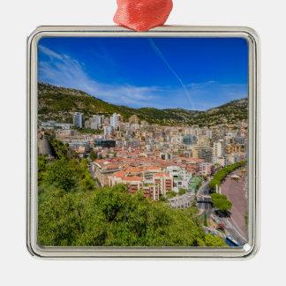 Ornement Carré Argenté Horizon du Monaco