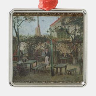 Ornement Carré Argenté Jardins de plaisir de Vincent van Gogh | chez