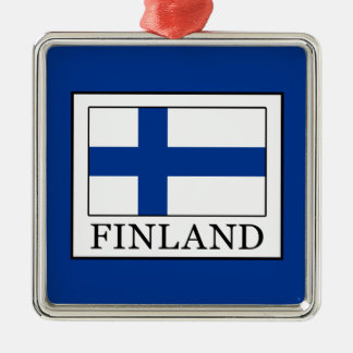 Ornement Carré Argenté La Finlande