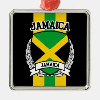 Ornement Carré Argenté La Jamaïque