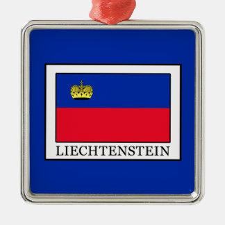 Ornement Carré Argenté La Liechtenstein