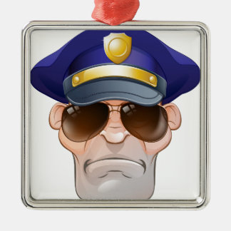 Ornement Carré Argenté La police fâchée moyenne de bande dessinée équipe