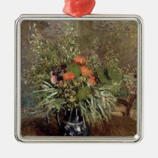 Ornement Carré Argenté La vie d'Alfred Sisley | toujours des fleurs