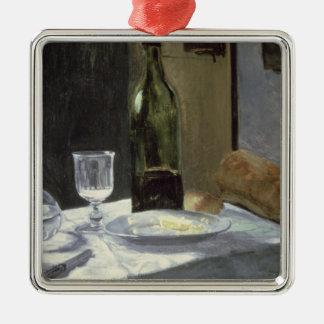 Ornement Carré Argenté La vie de Claude Monet | toujours avec des