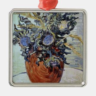 Ornement Carré Argenté La vie de Vincent van Gogh | toujours avec des