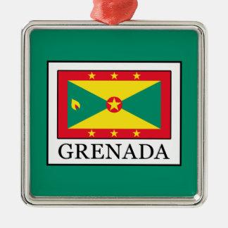 Ornement Carré Argenté Le Grenada