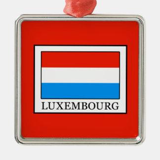 Ornement Carré Argenté Le Luxembourg