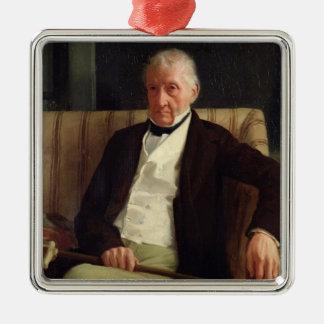 Ornement Carré Argenté Le portrait d'Edgar Degas   de Hilaire dégazent