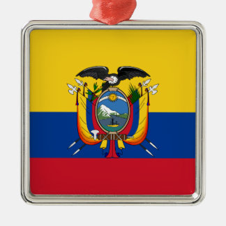 Ornement Carré Argenté L'Equateur