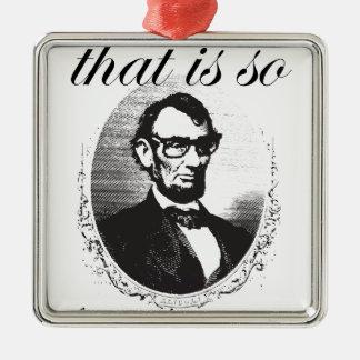 Ornement Carré Argenté Lincoln qui est ainsi quatre-vingt et il y a de