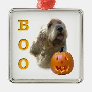Ornement Carré Argenté L'Otterhound Halloween HUENT