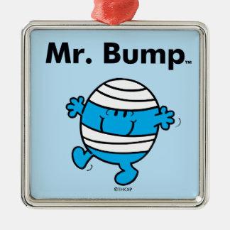 Ornement Carré Argenté M. Bump de M. Men | est un Clutz