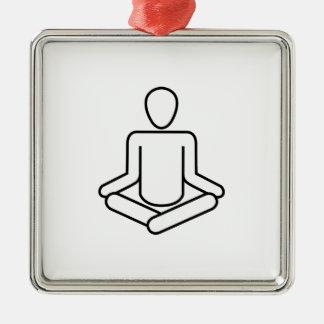Ornement Carré Argenté Méditation-logo