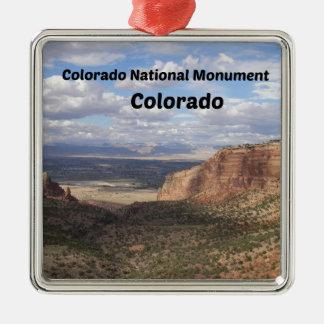 Ornement Carré Argenté Monument national du Colorado, Co