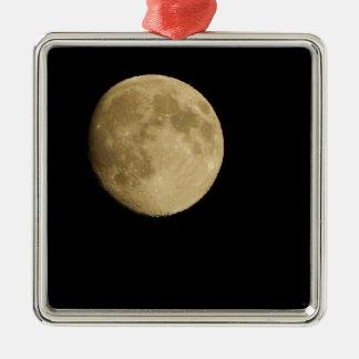 Ornement Carré Argenté moon