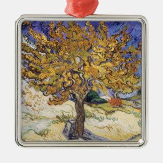 Ornement Carré Argenté Mûrier de Vincent van Gogh  , 1889