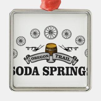Ornement Carré Argenté ot de b Soda Springs