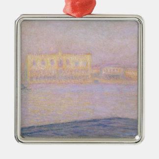 Ornement Carré Argenté Palais ducal de Claude Monet | de San Giorgio,