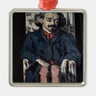 Ornement Carré Argenté Paul Cezanne | Achille Emperaire c.1883