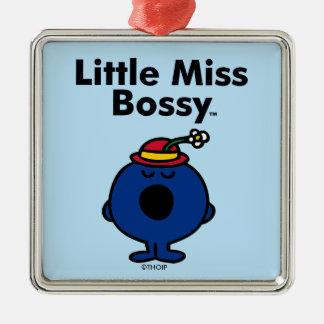 Ornement Carré Argenté Petite petite Mlle Bossy de la Mlle | est si