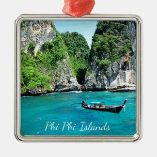 Ornement Carré Argenté PhiPhiislands_thailand