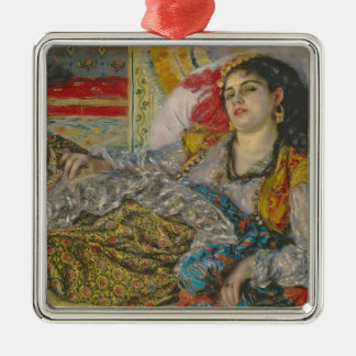 Ornement Carré Argenté Pierre Olympia de Renoir |