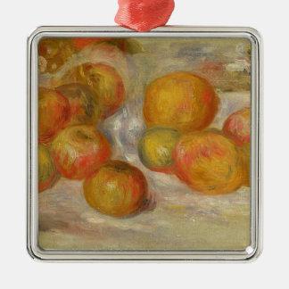 Ornement Carré Argenté Pierre par vie de Renoir | toujours avec des