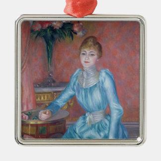 Ornement Carré Argenté Pierre une Madame de Bonnieres de Renoir |