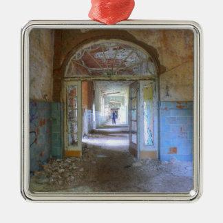 Ornement Carré Argenté Portes et couloirs 03,0, endroits perdus, Beelitz