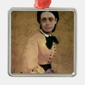 Ornement Carré Argenté Portrait d'Edgar Degas | de Pauline de Metternich