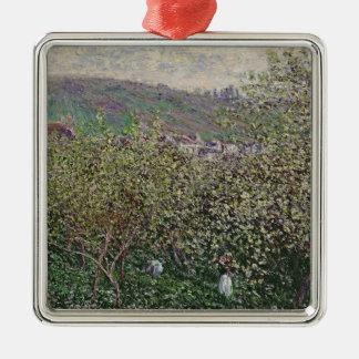 Ornement Carré Argenté Récolteuses de fruit de Claude Monet |, 1879