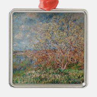 Ornement Carré Argenté Ressort de Claude Monet |, 1880-82