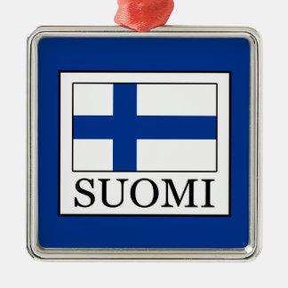 Ornement Carré Argenté Suomi