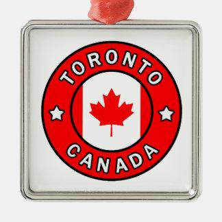Ornement Carré Argenté Toronto Canada