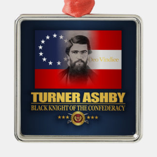 Ornement Carré Argenté Turner Ashby (patriote du sud)