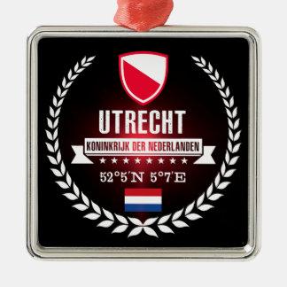 Ornement Carré Argenté Utrecht