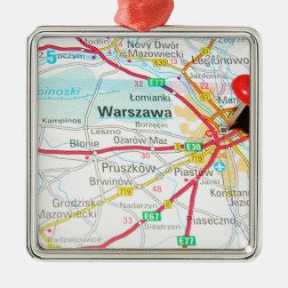 Ornement Carré Argenté Varsovie, Varsovie en Pologne