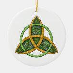 Ornement celtique de noeud de trinité
